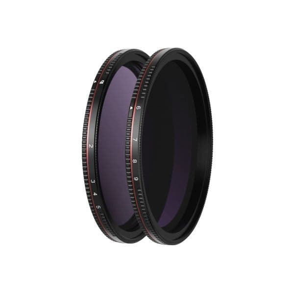 Freewell 82mm Hard Stop Variable ND Filters - 2 Pack - 2-5 Stop & 6-9 Stop